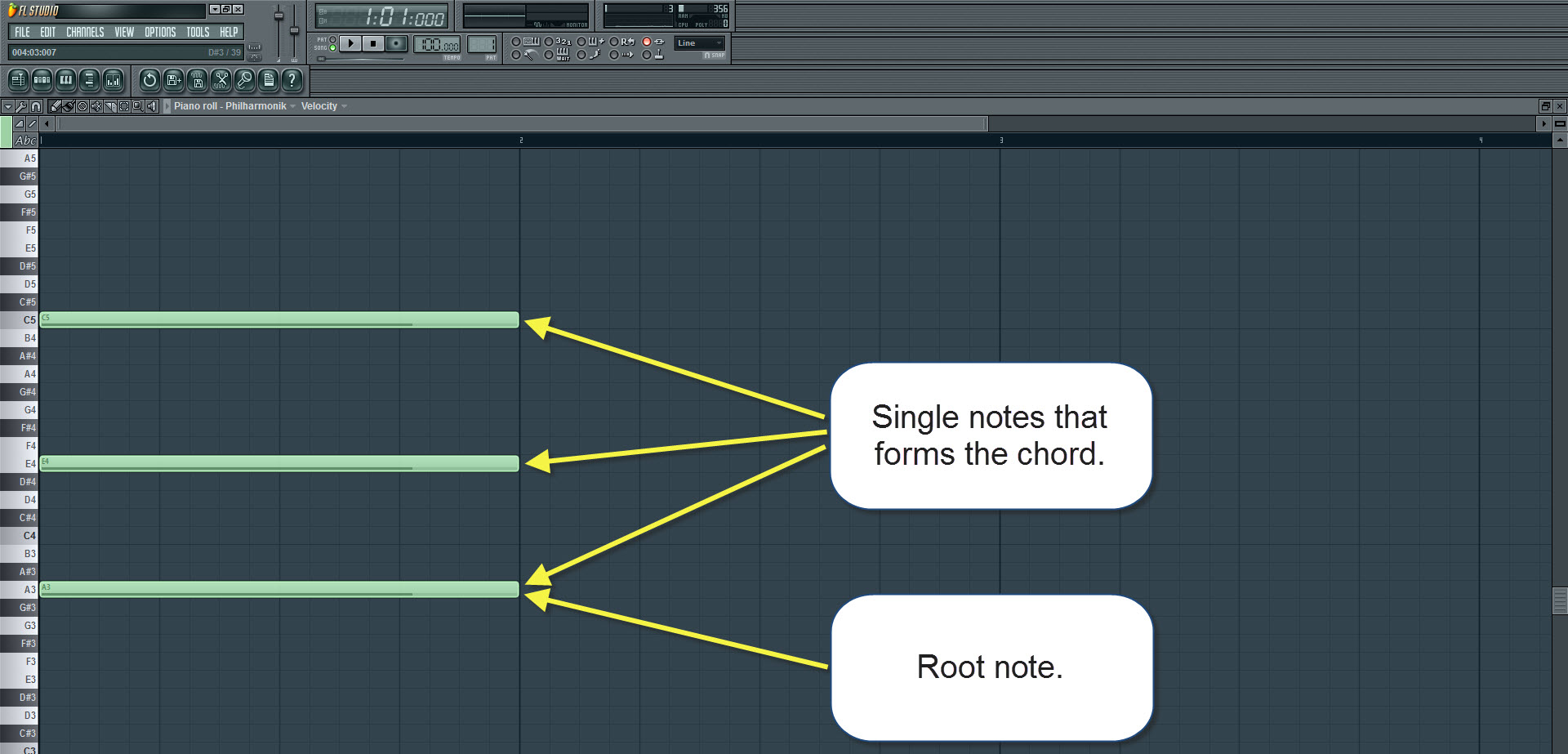 How to make a song in fl studio start with the chords htmem chord hexwebz Gallery