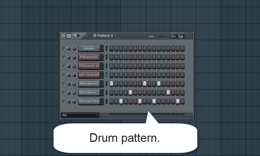 How to make a song in fl studio start with the chords htmem drum pattern fandeluxe