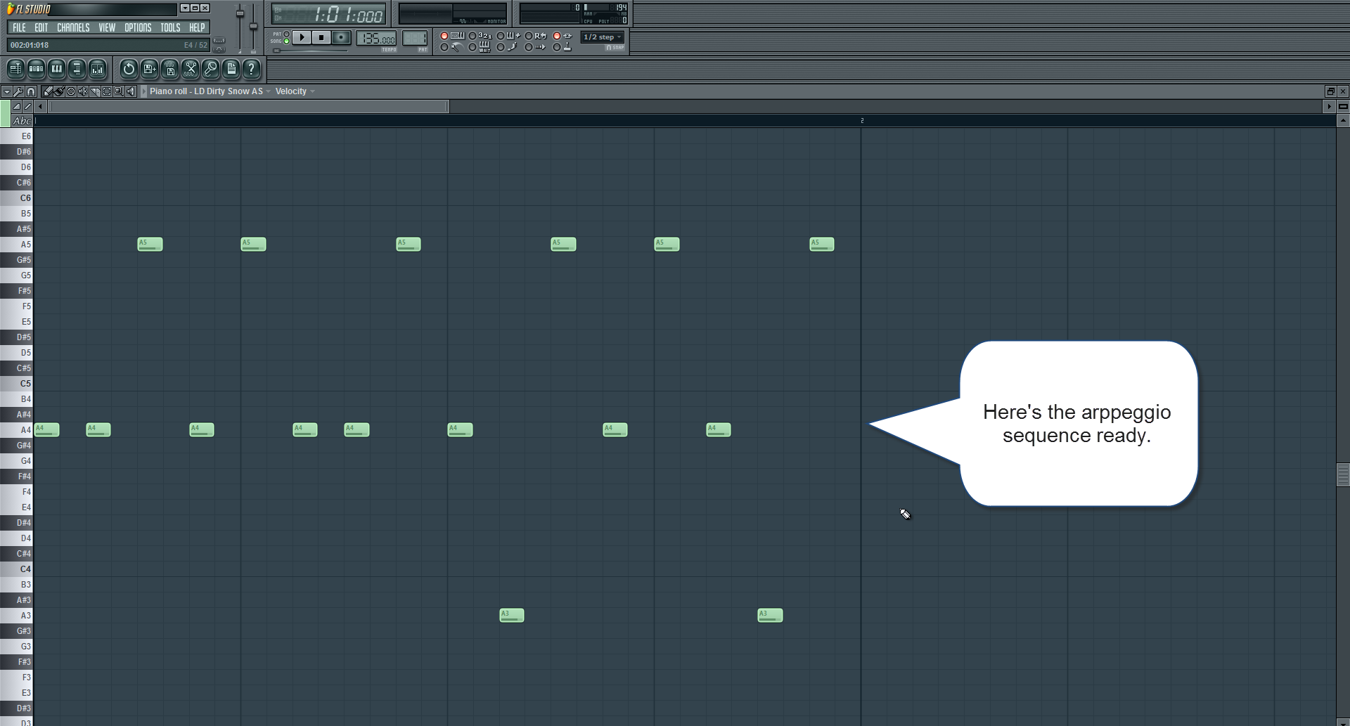 how to make fl studio snap to gird