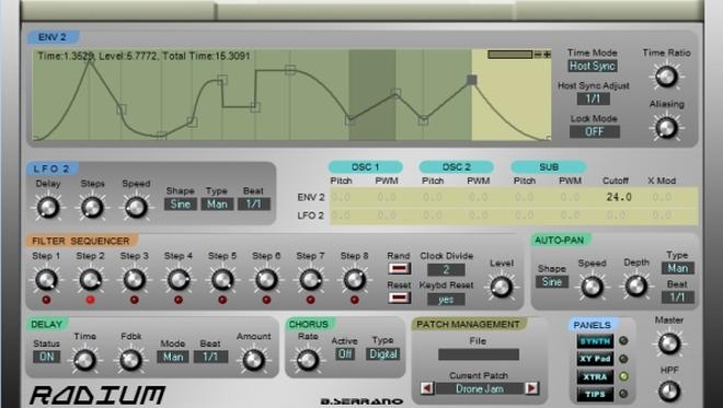 B. Serranos Radium VST Synth