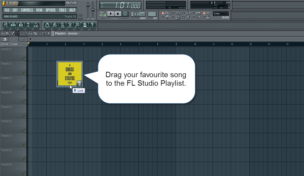 how to copy and paste on fl studio 12 playlist