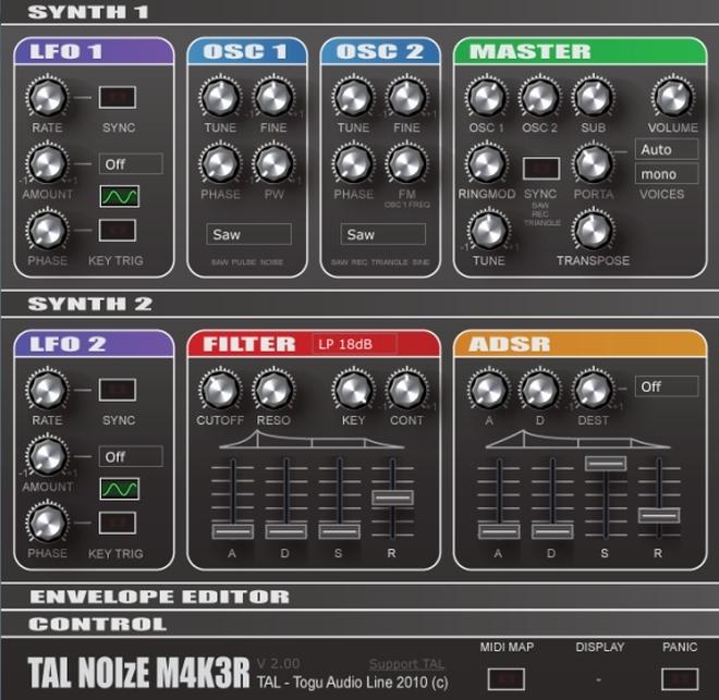 TAL NoiseMaker VSTi