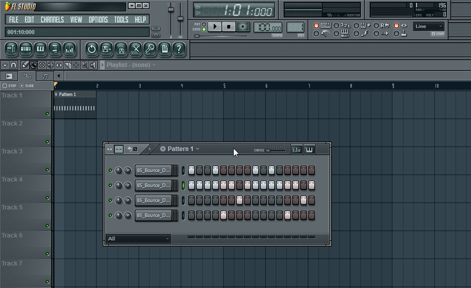 how to easily delete multiple patterns fl studio
