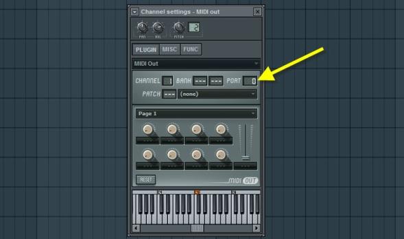 MIDI Out Plugin