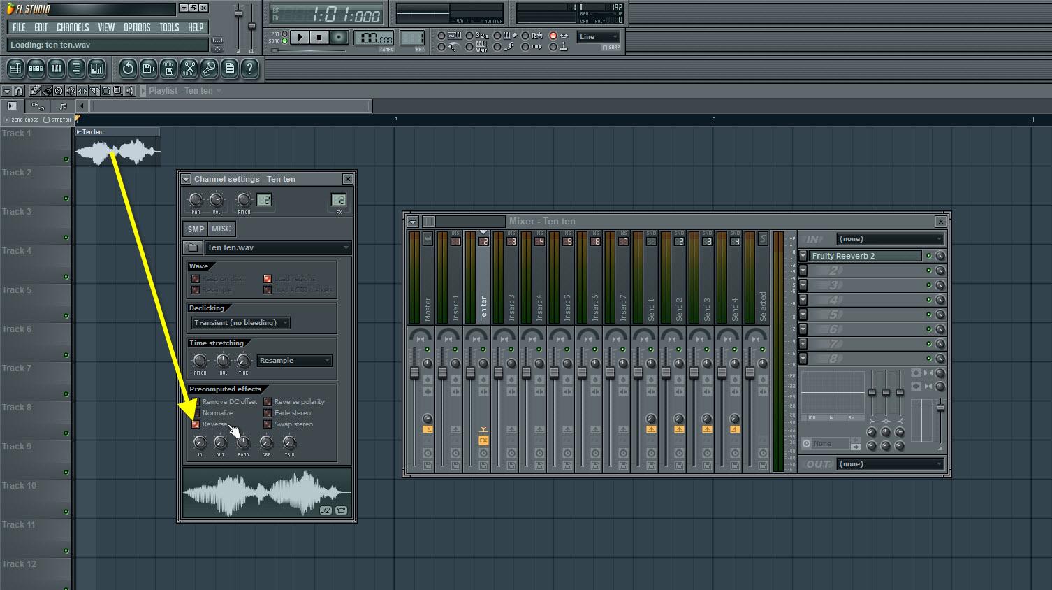 Reverse The Original Vocal Sample