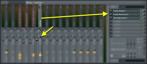 Routing Mixer Track Settings