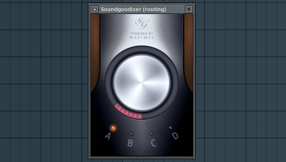 Soundgoodizer Settings For The Routing Mixer Track