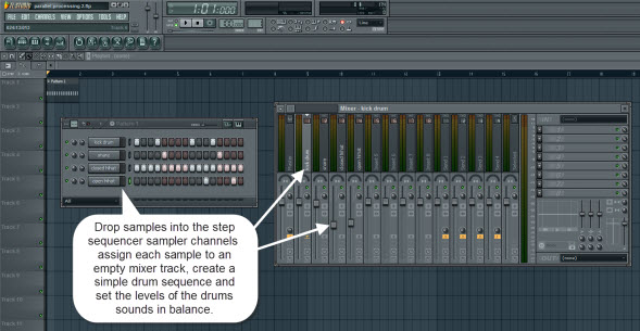 Creating The Drum Sequence