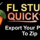 FL Studio Quick Tip: Export Your Project To Zip