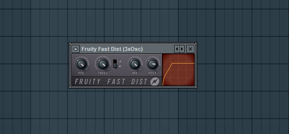Fruity Fast Dist Settings