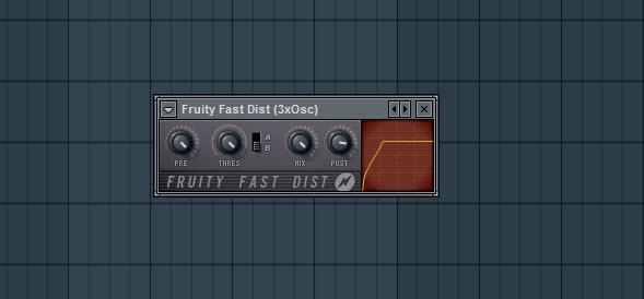 Fruity Fast Dist Settings