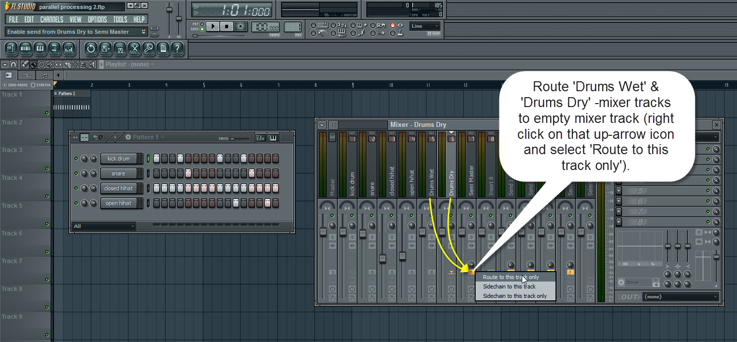 How To Use Parallel Processing In FL Studio | How To Make Music