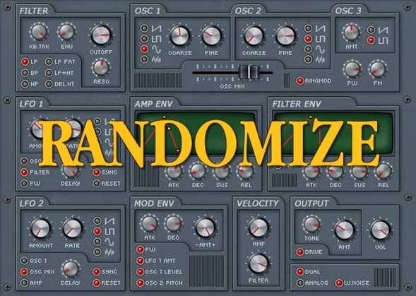 Synthesizer Sound Design Tip Use Randomization