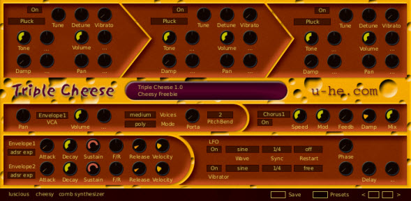 Triple Cheese Free VST Synth By U-He
