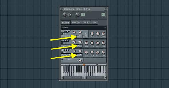 Select Noise As Oscillator Shape