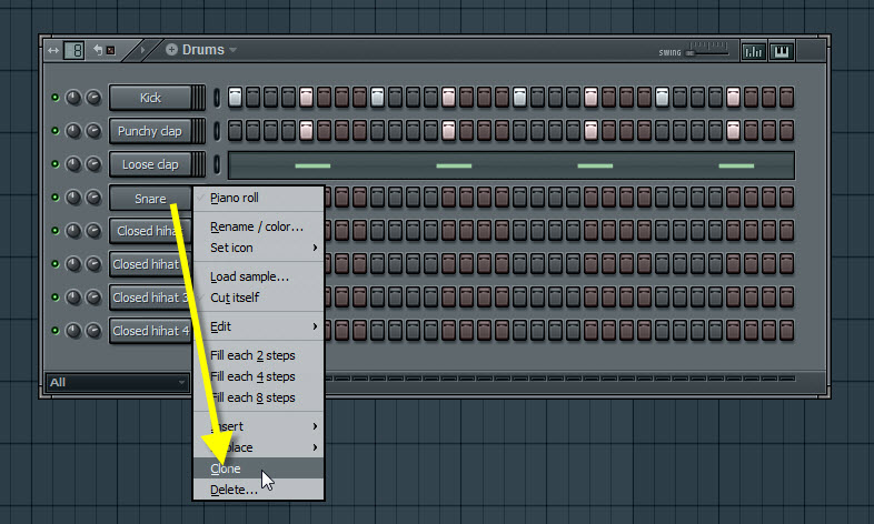 Clone The Snare Channel