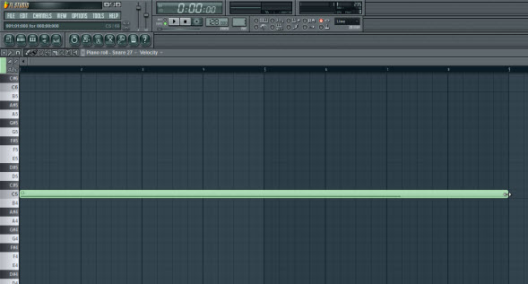 fl studio how to draw notes piano