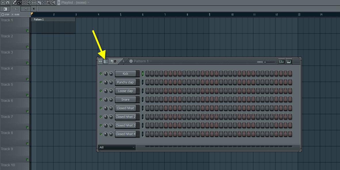 Extend The Pattern To 8 Beats Per Bar