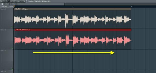 Move The Audio Clip