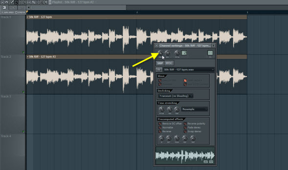 Pan The Audio Clips