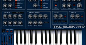 TAL-Elek7ro-II Free And Fat VST Synth