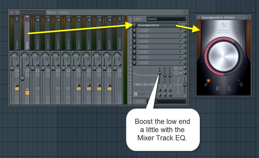 3xOsc Mixer Settings