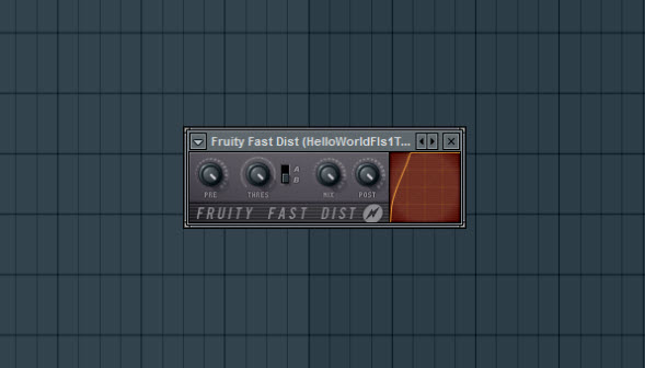 Fruity Fast Dist Settings For Dirt