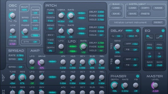 Free Synth For Windows – Kairatune – Synthtopia