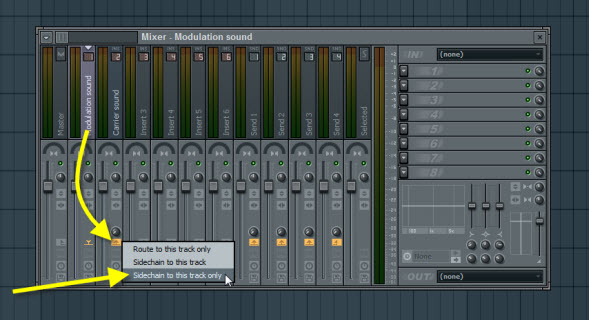Sidechain The Modulation To Carrier