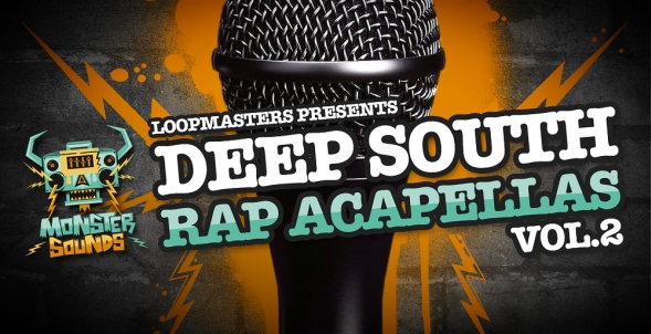 Deep South Rap Acapellas Vol. 2