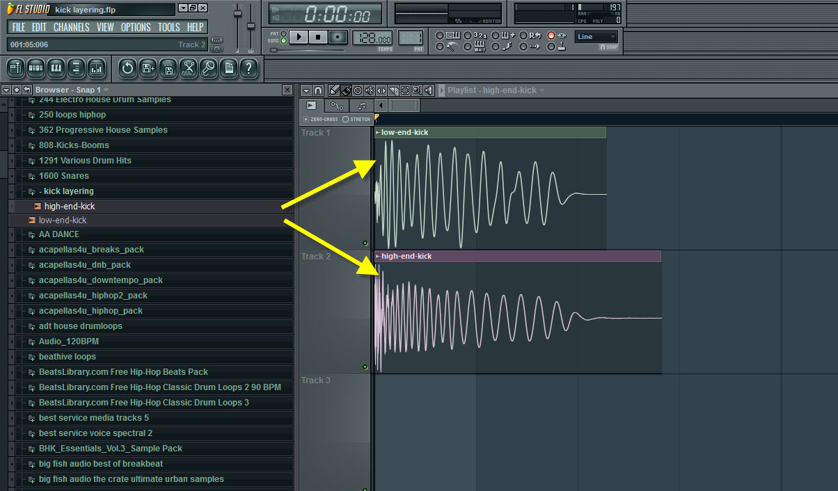 How To Layer Kick Drums