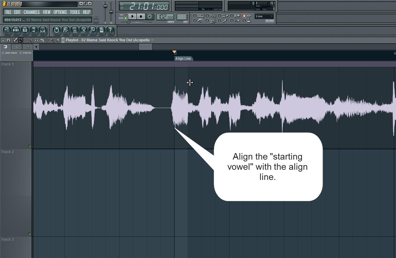 Align The Vocals