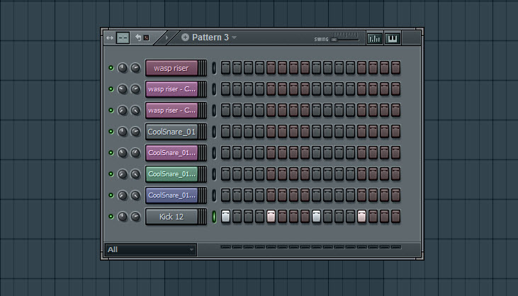 Kick Pattern For Sidechain Purposes