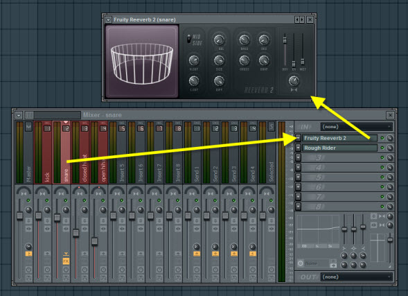 Fruity Reeverb 2 For Snare