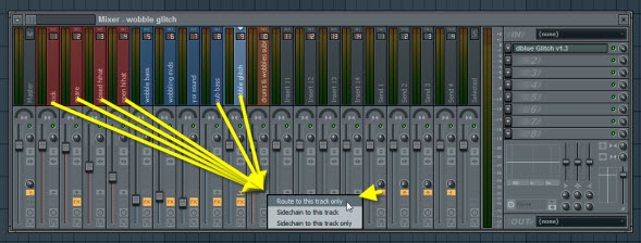 Route All Tracks To Submix Track