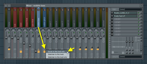 Routing Wobble Bass Track