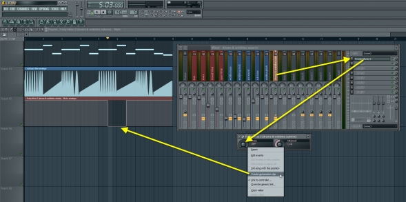 Submix Track Mute Automation