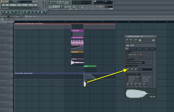 Vocal Sample Pitch Shift