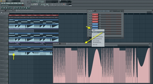 Yoi Sound Channel Volume Automation