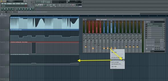 Yoi Sound Track Volume Automation