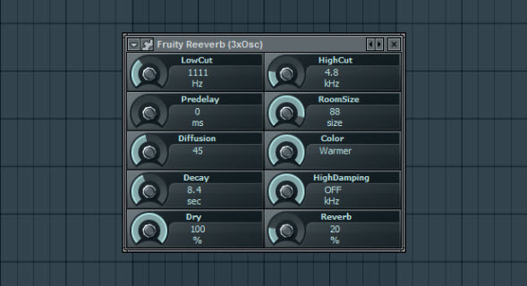 Fruity Reeverb Settings For Saw Wave Pad