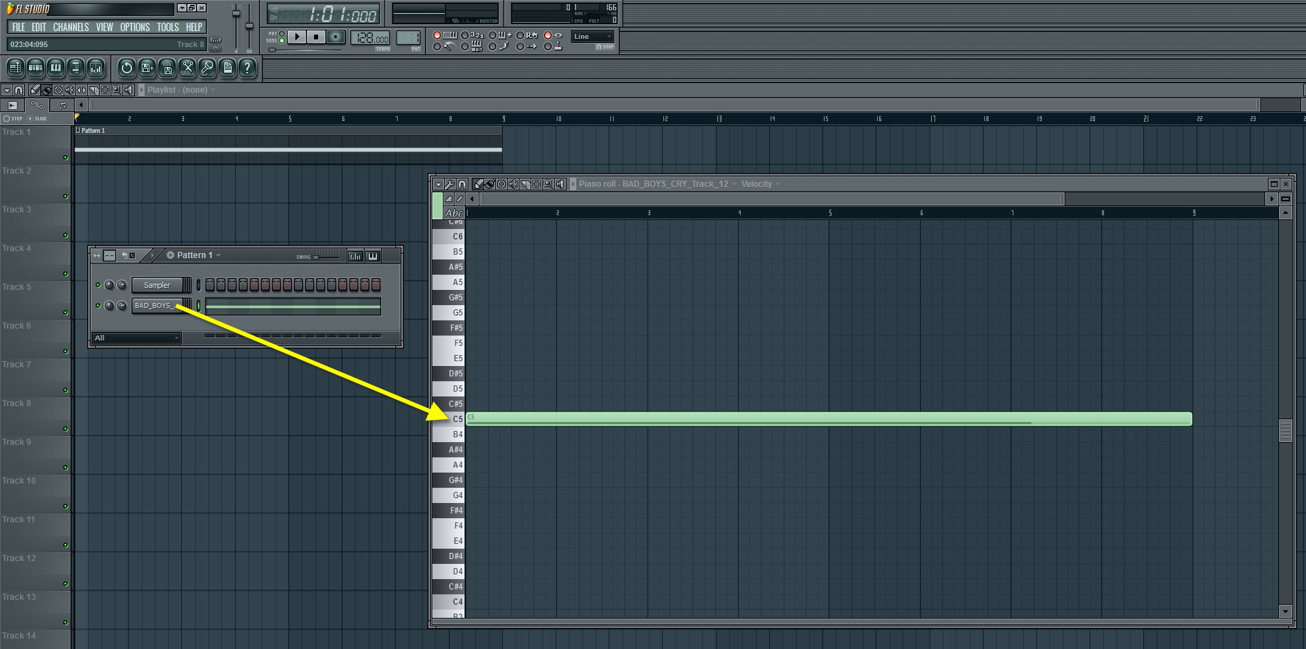 how to make sample into notes fl studio
