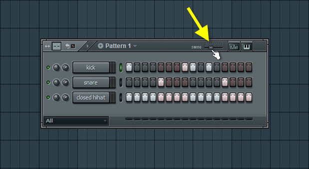Using Swing In Step Sequencer