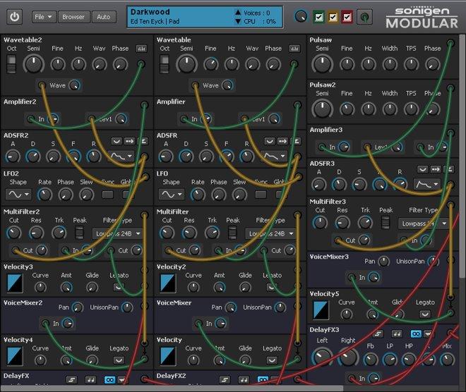 Sonigen Modular Free Modular Synthesizer