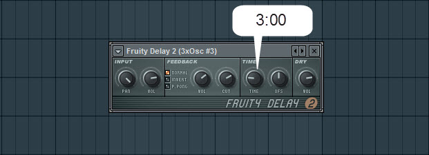 Fruity Delay 2 Settings For The Second Pad Sound