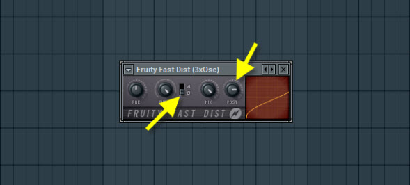 Fruity Fast Dist For Power Bass