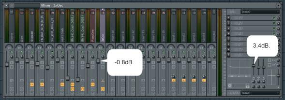 Bass Mixer Settings