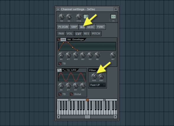 Bass Sound Filter Settings