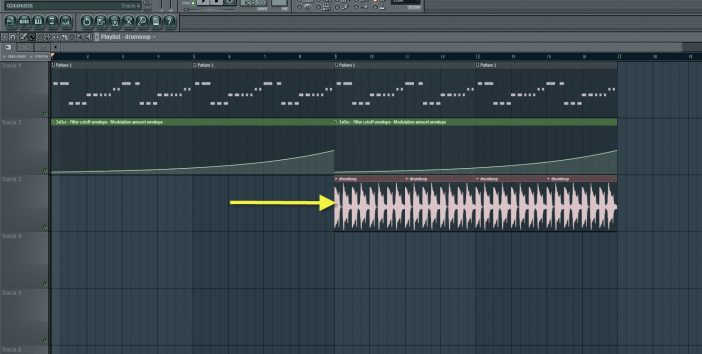 Adding Drumloop