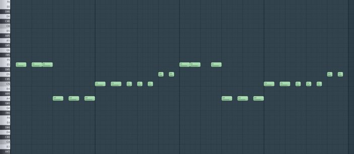 Example Chord Stab Sequence